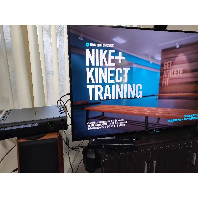 xbox360主機+改機LT3.0+kinect體感機+120g硬碟 黑色 Xbox 360 主機二手主機厚機薄機