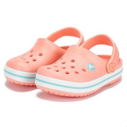 【蝦皮茉兒】宅配免運 🚚 Crocs 兒童涼鞋Crocband 系列 粉紅 / 藍色 COSTCO 好市多 卡駱馳