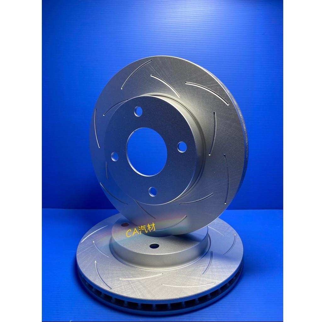 CA汽材 NISSAN日產 TIIDA 2006 FERODOMAX 劃線 防鏽煞車盤  前碟盤 煞車盤 剎車盤 11