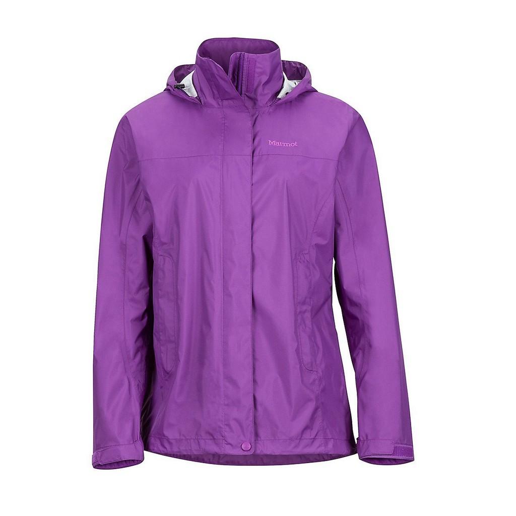 【Marmot】46200-6238 淺紫色 美國 女 PreCip 土撥鼠 防水外套