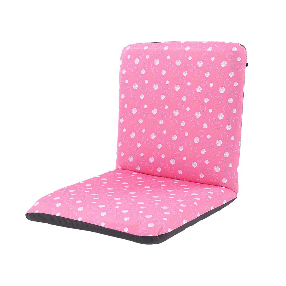 【HB】活潑亮彩點點加大款日式和式椅/和室椅/休閒椅-藍色/粉紅色/灰色/橘色【SY-SF010】4色可選 台灣製造
