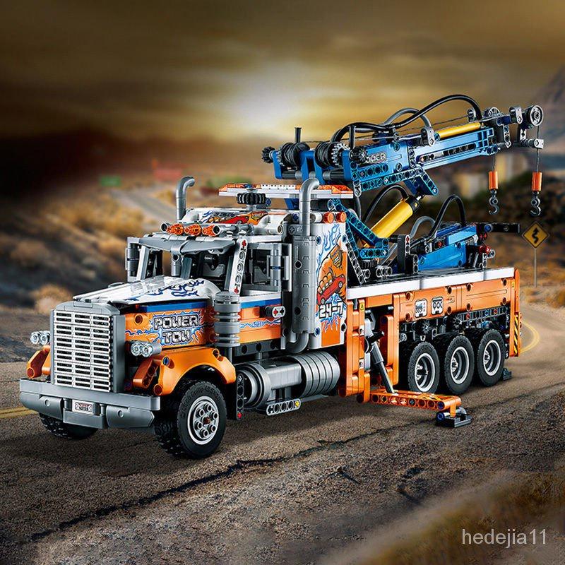 【全場免運 立減200】【正品保證】樂高L 科技機械42128重型拖車汽車 rF4J