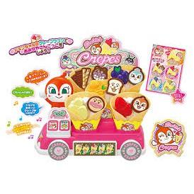 🇯🇵  日本空運  ✈ 麵包超人 可麗餅餐車 行動餐車 家家酒玩具