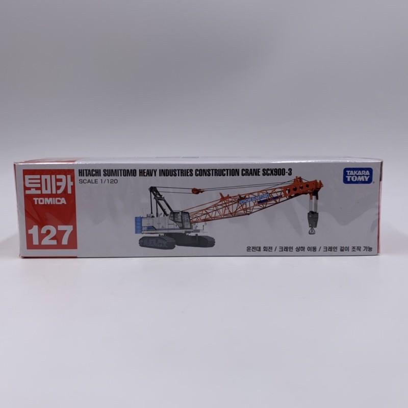 Tomica No.127 日立住友重機械建機 吊車 SCX900-3