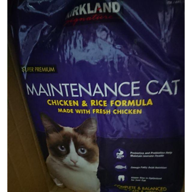 好市多 costco 代購 科克蘭 紫包 貓飼料 11.34公斤