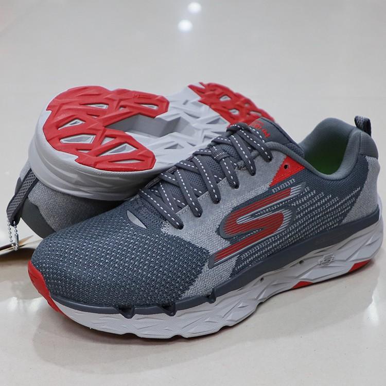 *世偉體育 * SKECHERS GORUN MAXROAD 3 ULTRA 運動鞋 55208-CCRD 灰紅