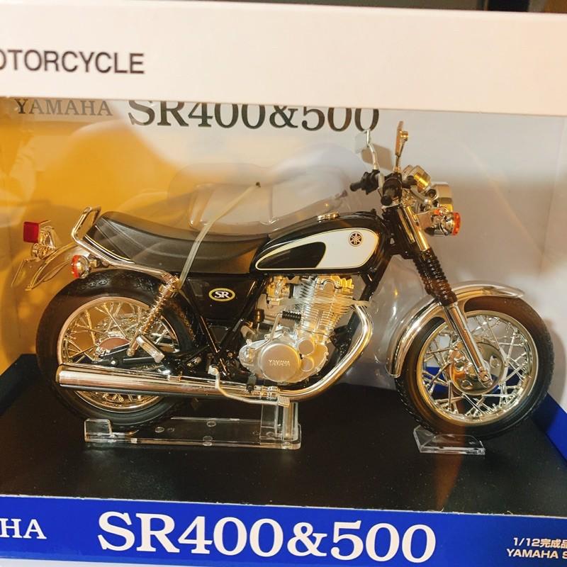 Yamaha SR400&500 1/12模型車