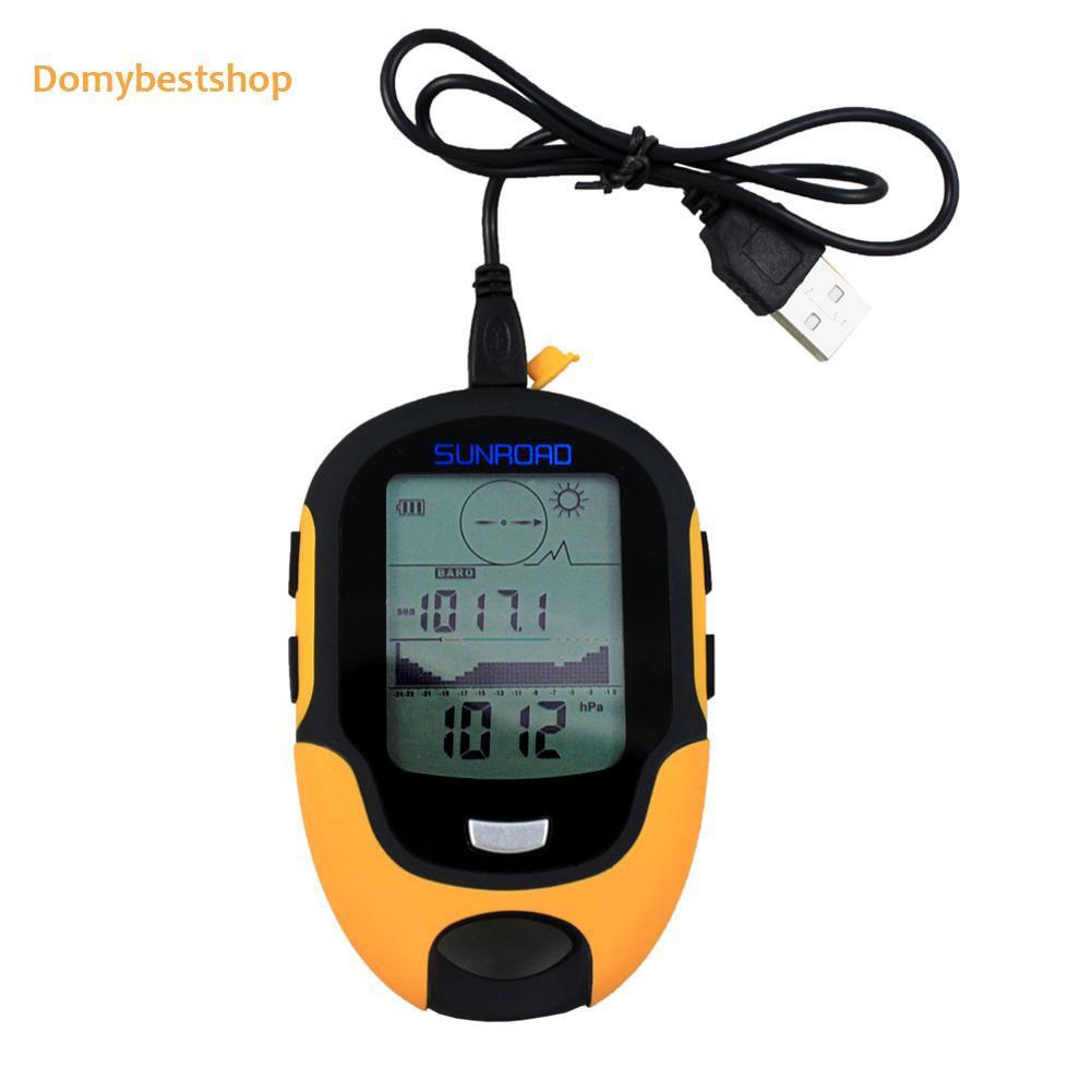 Domybestshop 防水 Fr500 多功能液晶數字高度計氣壓計指南針