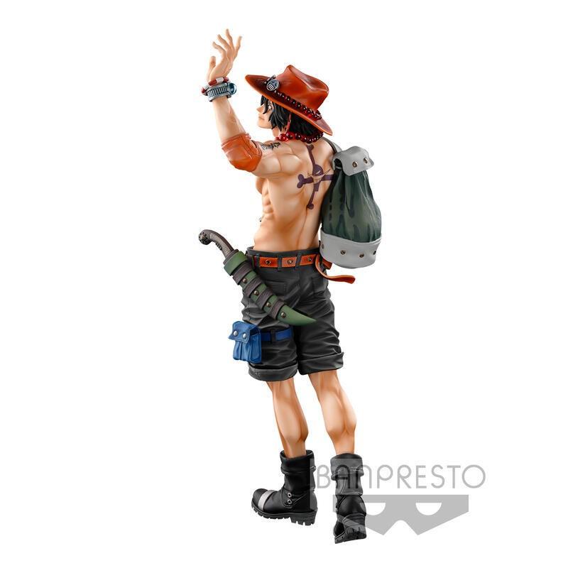 『就是愛玩玩具』海賊王 景品 海外限定版 BWFC SMSP 艾斯 THE BRUSH 單獨結帳 //現貨供應//