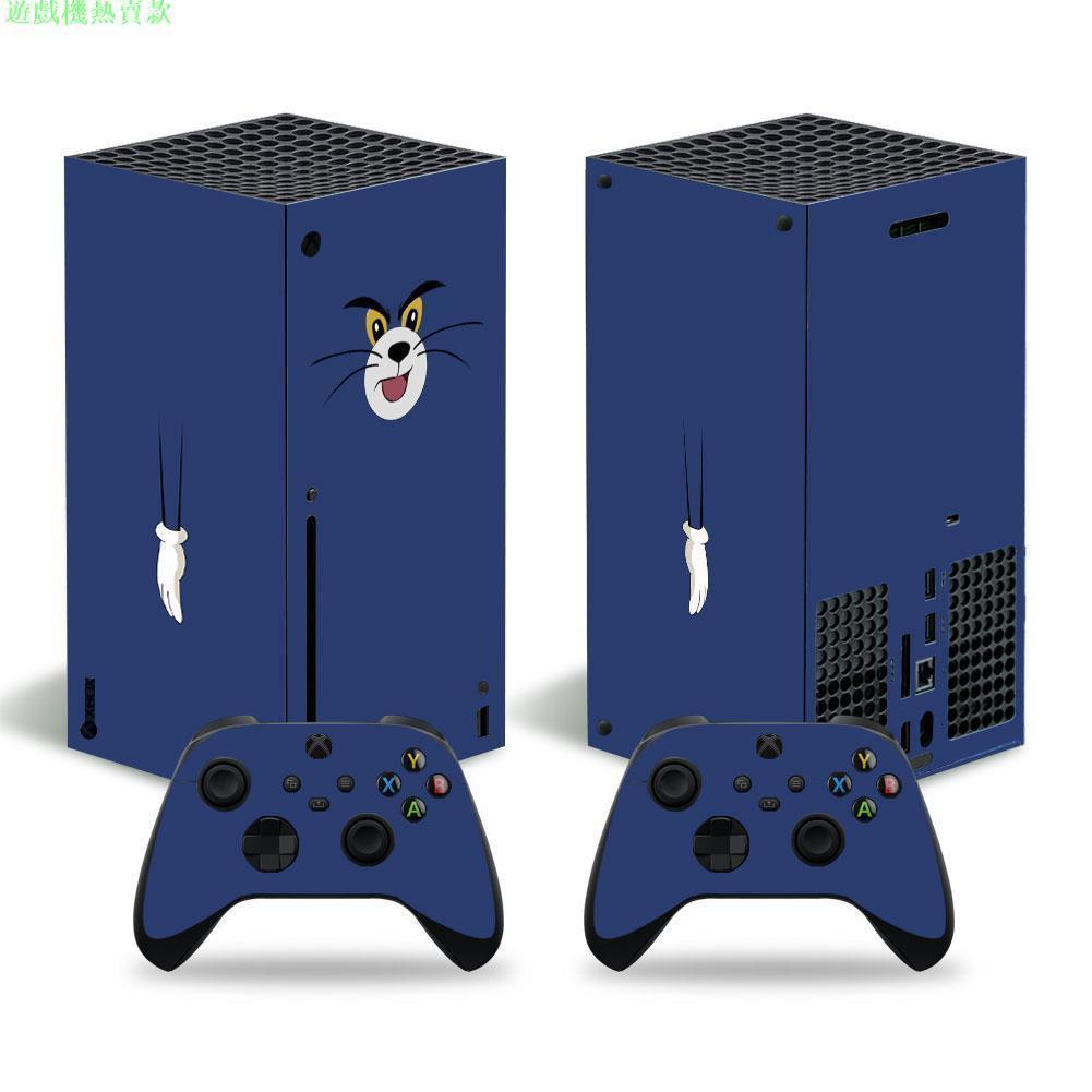 遊戲機熱賣款微軟XBOX series X貼膜XBOX series X主機貼紙個性限量款式貼膜