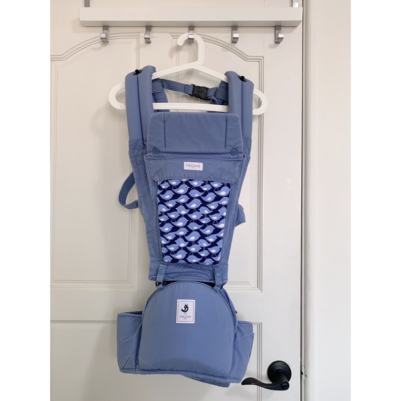 韓國 POGNAE ORGA 有機棉坐墊型揹巾/ 背巾 Costco購入