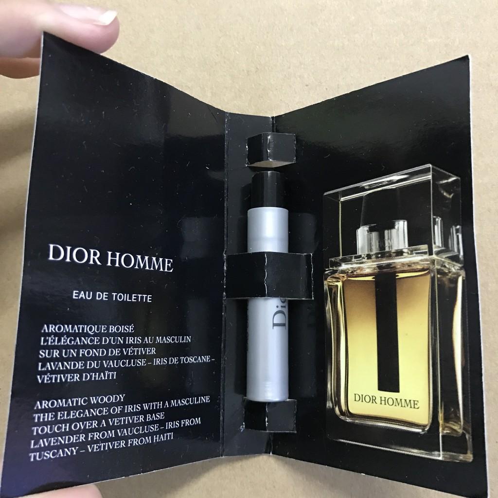 outlet store 086f8 1aad3 Christian Dior 迪奧 DIOR HOMME 男性淡香水 1ml 針管式 全新 現貨