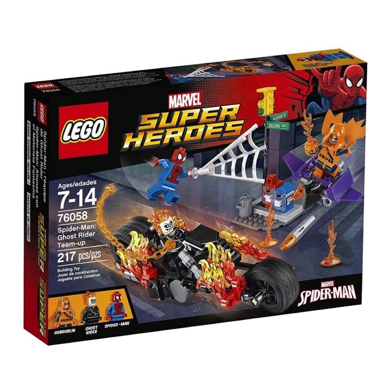 LEGO 樂高 76058 超級英雄系列 蜘蛛人 惡靈戰警 全新未拆