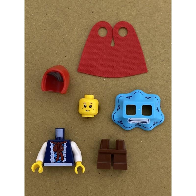 LEGO 樂高 人偶 21315 小紅帽 IDEAS 立體童話書