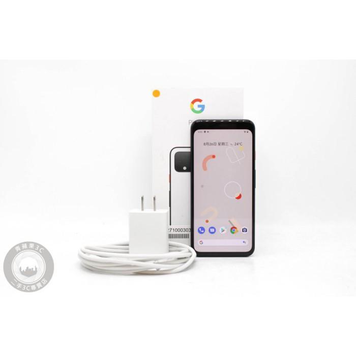 【高雄青蘋果3C】GOOGLE Pixel 4 G020I 64G 64GB 5.7吋 白 二手手機 #54467