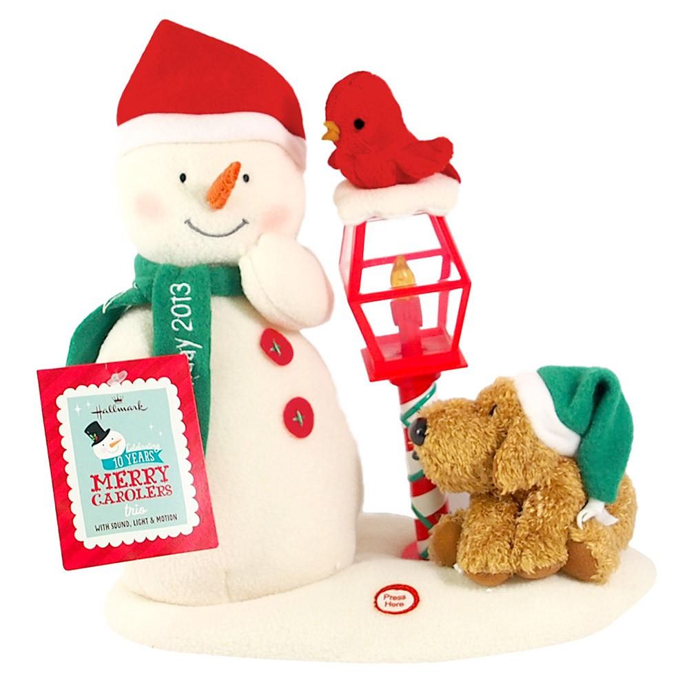 【Hallmark-禮品 聖誕節系列】音效擺飾-雪人與狗