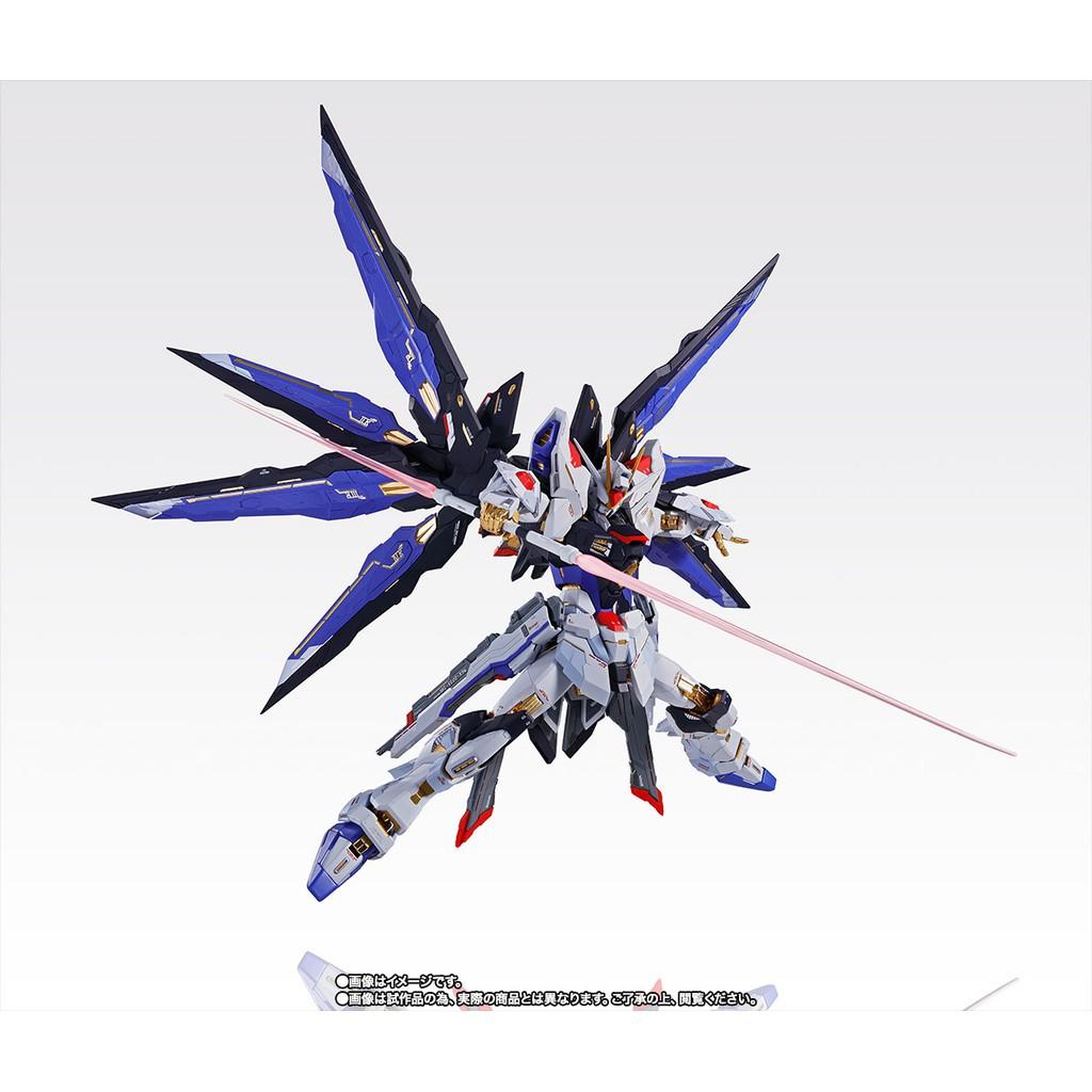 新品萬代 MB 會場限定 攻擊 自由鋼彈 METAL BUILD 魂藍版 SFSB 鋼彈本體(Nina)