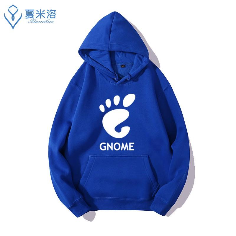 潮牌個性百搭redhat opensuse debian gentoo arch linux gnome程式員連帽衛衣