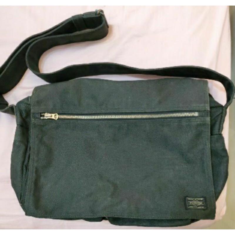 日本porter 吉田包牛仔帆布包  側背包/斜背包Yoshida Porter Smoky Shoulder Bag