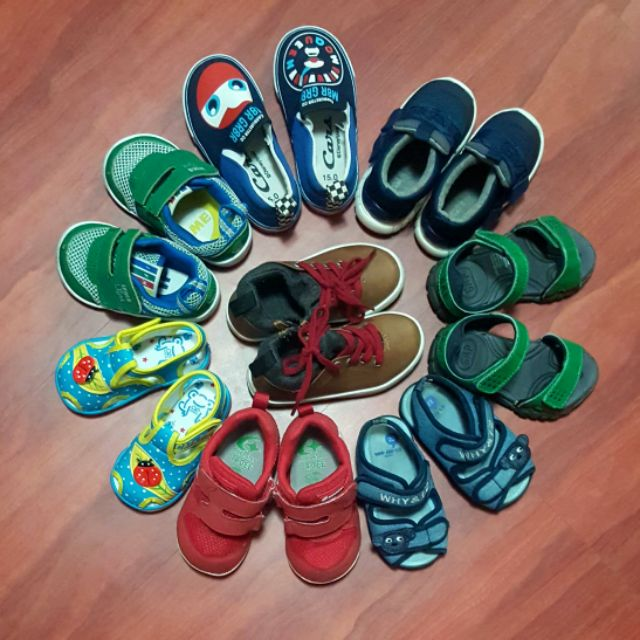 二手童鞋 [GAP] [IFME] [WHY&1/2] [MOONSTAR] [Zara]