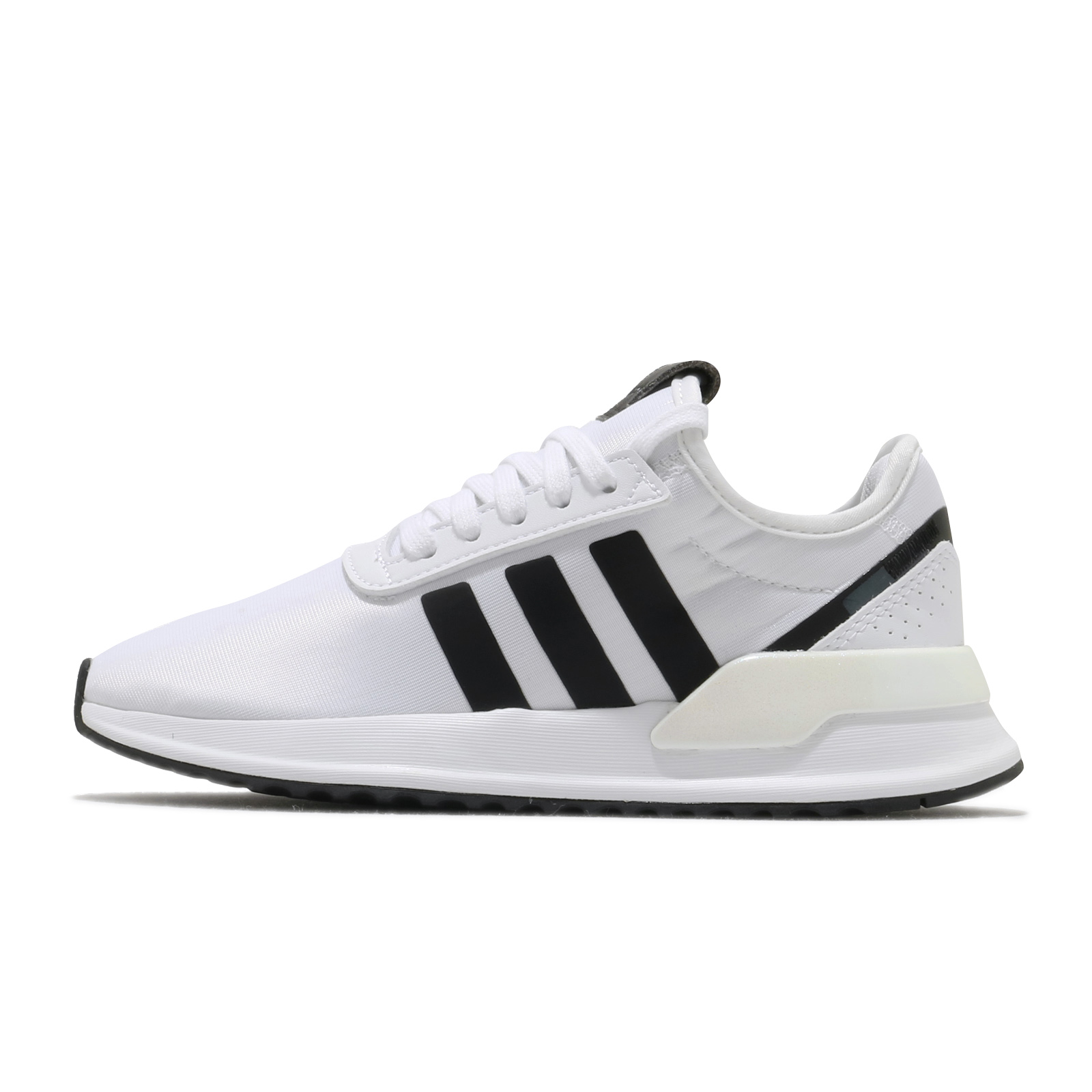 adidas 休閒鞋 U_Path X W 白 黑 愛迪達 三條線 女鞋 三葉草 基本款【ACS】 FV9255