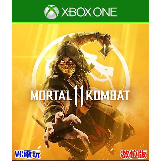 【WC電玩】XBOX ONE Series X 英文 真人快打 Mortal Kombat 11 下載版 無光碟非序號