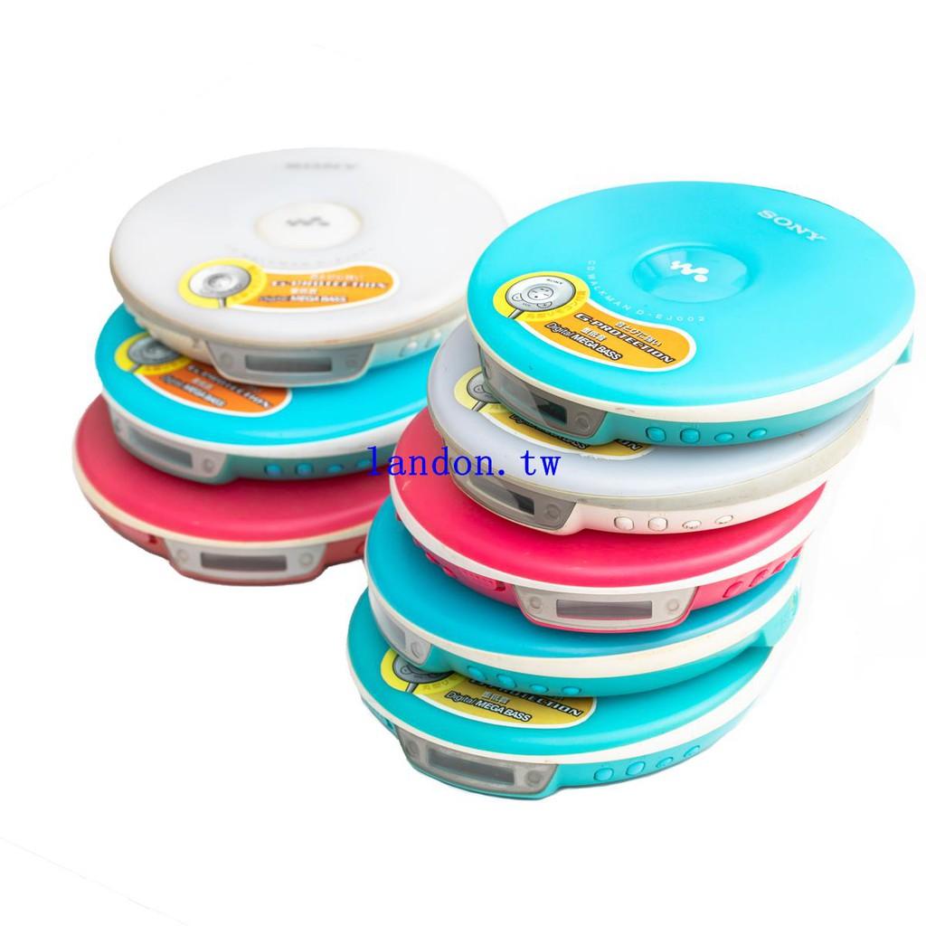 SONY D-EJ002 索尼CD隨身聽 discman CD機播放器 糖果機 日本購回