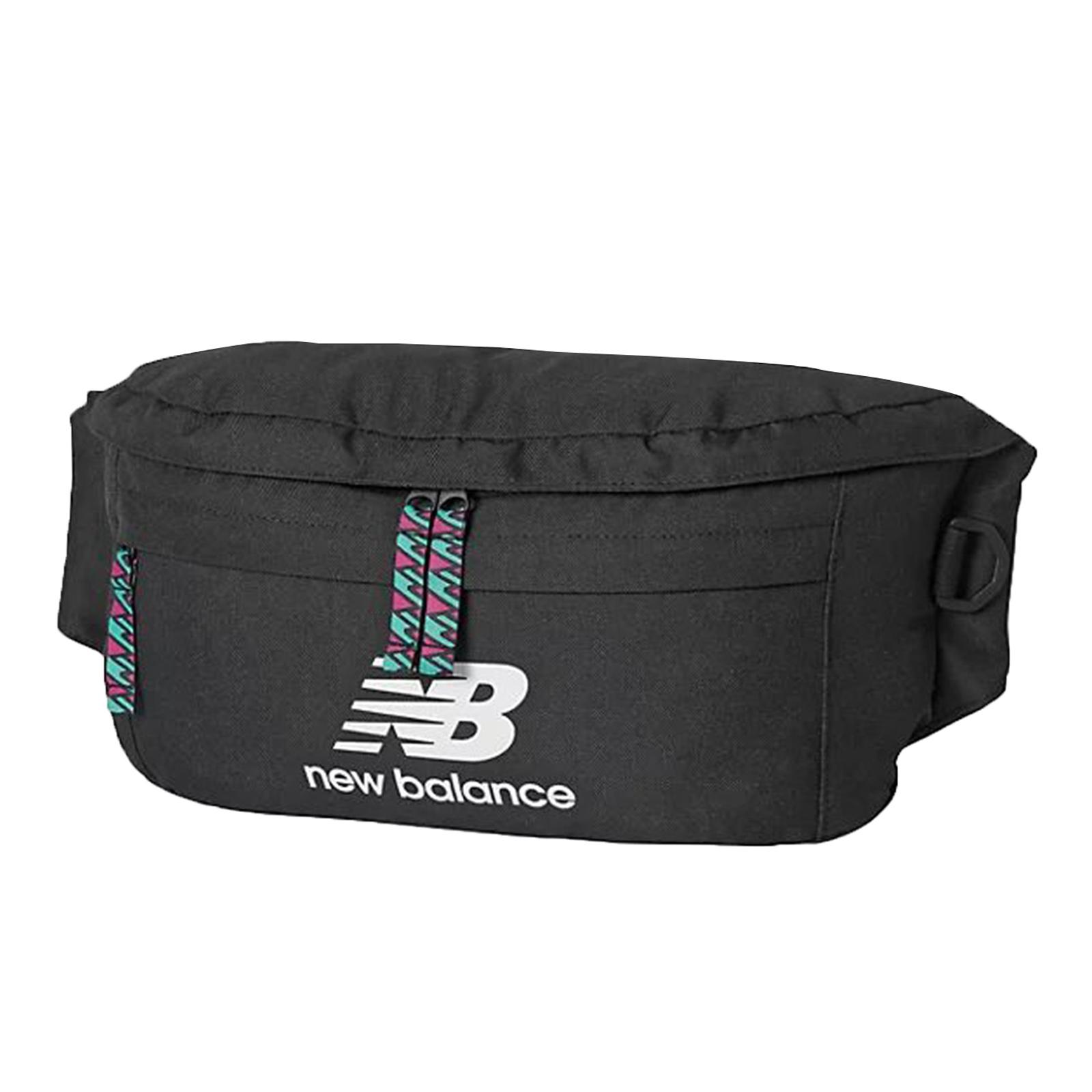 New Balance 腰包 Terrain Waist Pack 黑 白 男女款 斜背包【ACS】EQ03061MBK