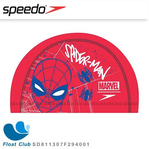 【SPEEDO】兒童合成泳帽 Pace 蜘蛛人 SD811307F294001 原價450元