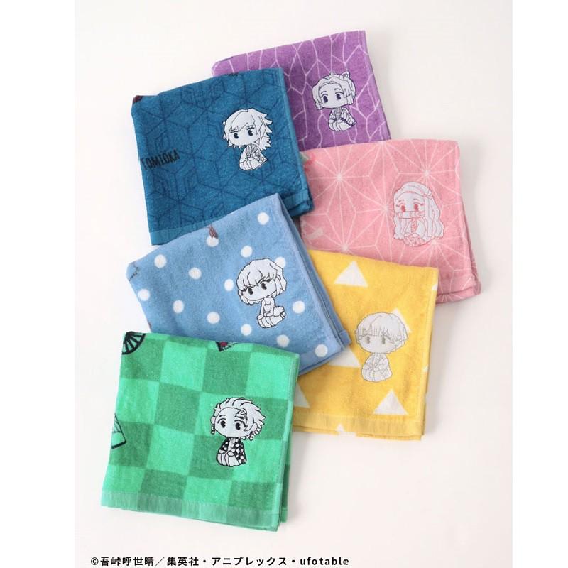[現貨] 鬼滅之刃手帕巾 鬼滅之刃 手帕 手巾 毛巾 純棉 五款可挑選 日本進口