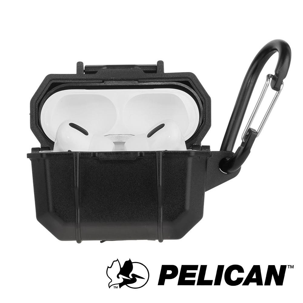 【美國Pelican】AirPods Pro Marine 陸戰隊防水防摔保護殼- 黑