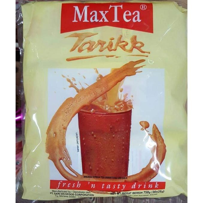 MAXTEA teh tarih 30saset/25gr 🇲🇨印尼奶茶 30包/25gr Max Tea