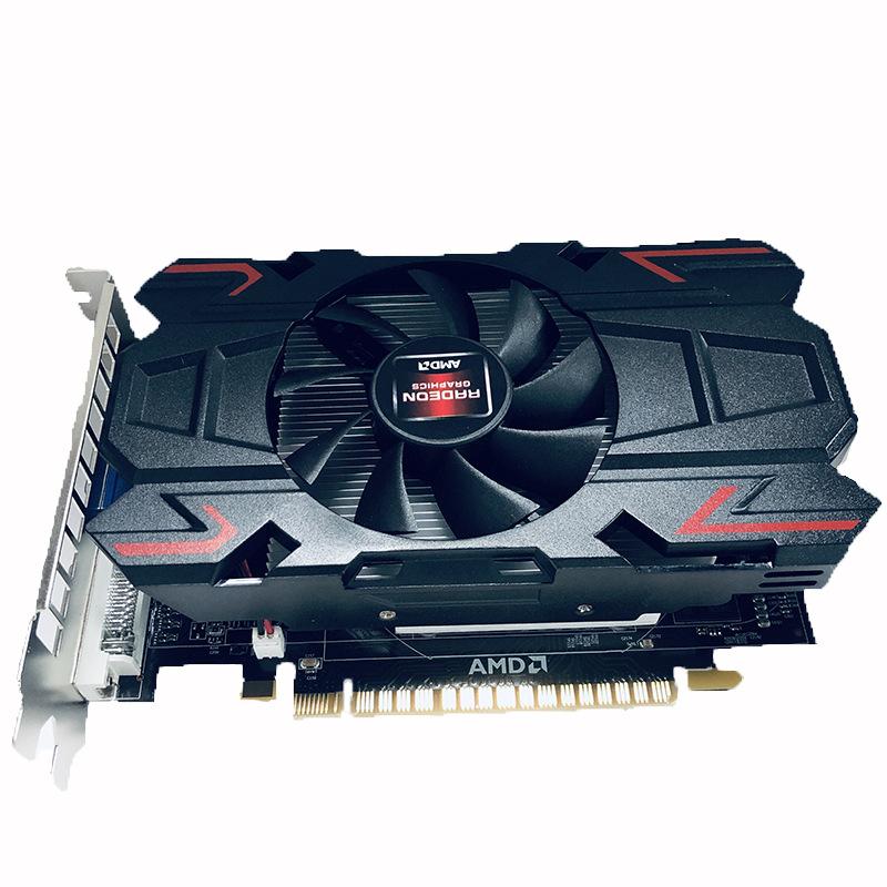 AMD顯卡HD6770 2G台式機電腦獨立遊戲顯卡 高清HDMI+VGA+DVI接口