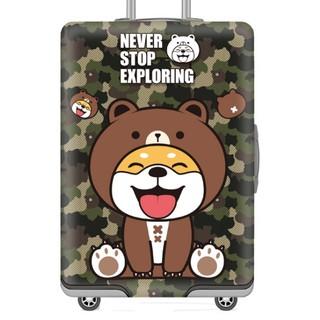 F11~16 行李套 加厚耐磨 行李箱保護套 防塵套 卡通行李套 20吋22吋24吋26吋28吋30吋32吋 彈力布 高雄市