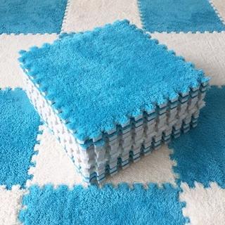 30 * 30厘米毛絨拼圖嬰兒遊戲墊拼圖墊/  30厚地板墊/ 拼圖嬰兒遊戲墊拼圖墊/ 泡沫運動地板地毯地毯/ 地墊磚吸水珊瑚