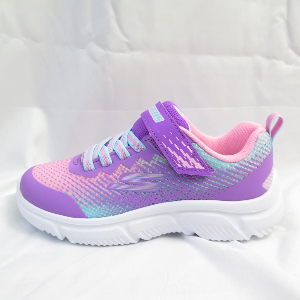 Skechers GO RUN 650 中童鞋 魔鬼氈 302430LPRMT 粉紫【iSport愛運動】
