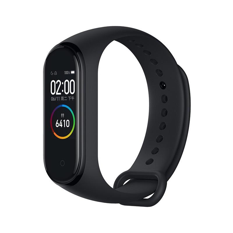 🍁錶帶🍁現貨  小米手環3代原裝正品硅膠腕帶智能運動4代nfc版官網原廠替換錶帶
