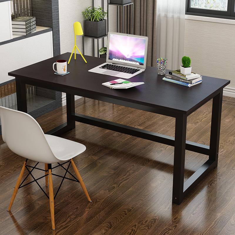 【熱銷】中小學生書桌電腦桌子60長70/80/90/110/100/120寬40加固50鋼木桌