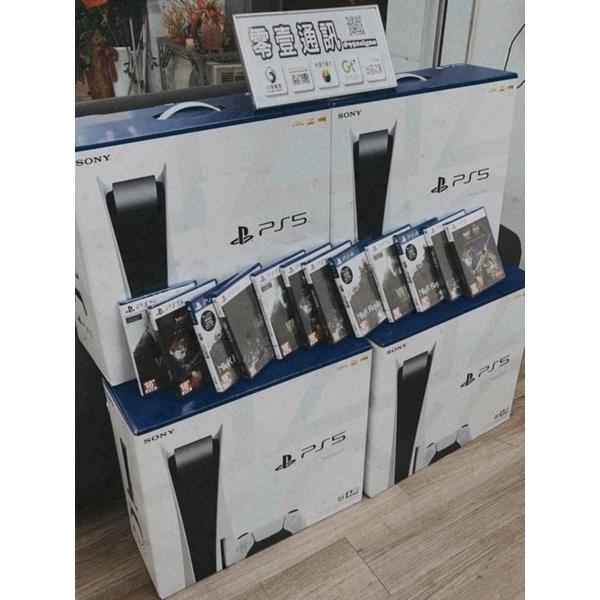 【全新】PlayStation 5 光碟版 台灣版 現貨