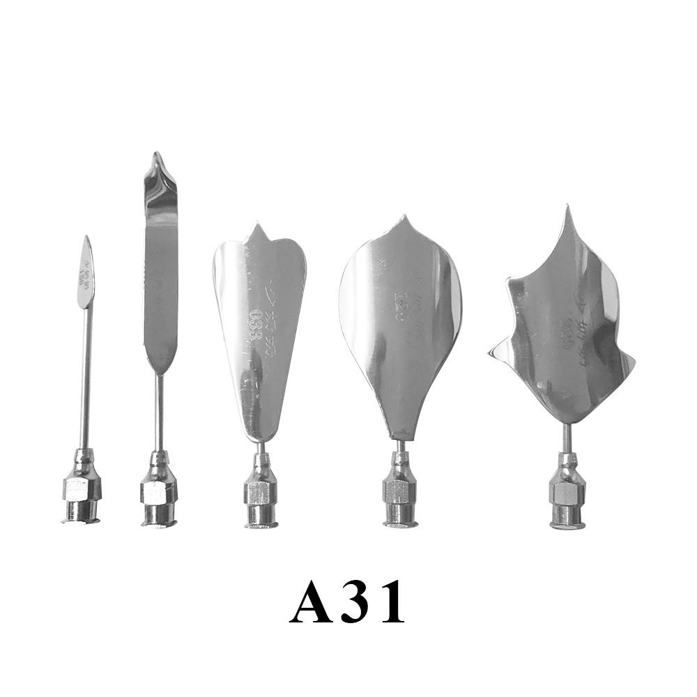 優果《越南進口不鏽鋼果凍花針A31》每組內含5支針