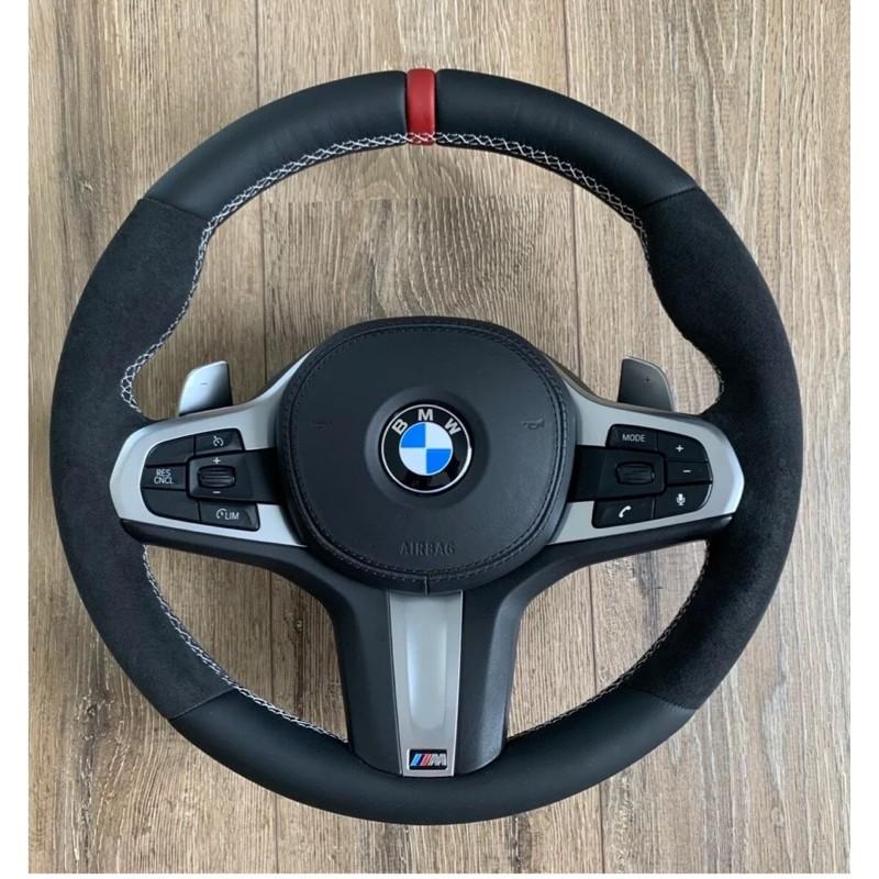 寶馬 BMW G11 G12 G20 G30 G31 M Performance 麂皮方向盤含氣囊