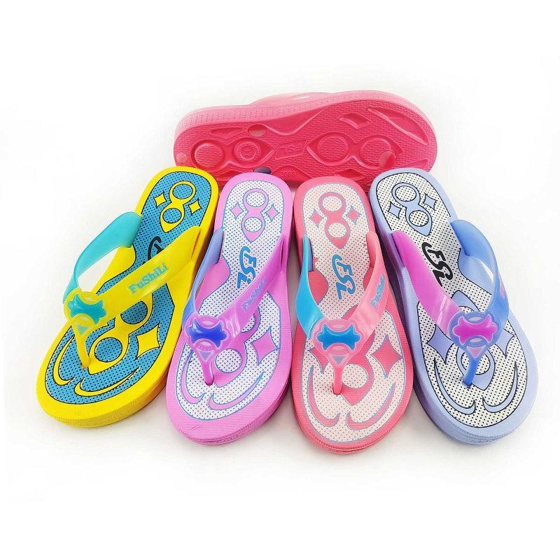 塑料拖鞋女防滑板鞋人字成人學生女士時涼拖簡約流行款夾板居家