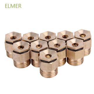 "ELMER 1/ 2""黃銅螺紋灑水頭灑水器360度噴霧噴頭噴嘴/ 多種顏色"