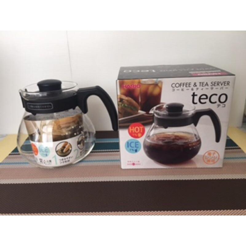 酷嚕嚕 HARIO 耐熱玻璃咖啡壺1000ml TC-100