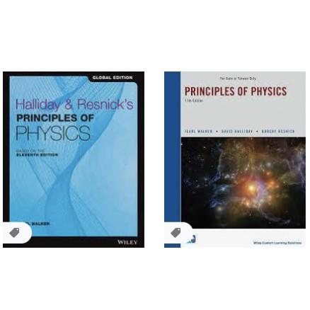 【夢書/21 H-1 73】PRINCIPLES OF PHYSICS 11E HALLIDAY
