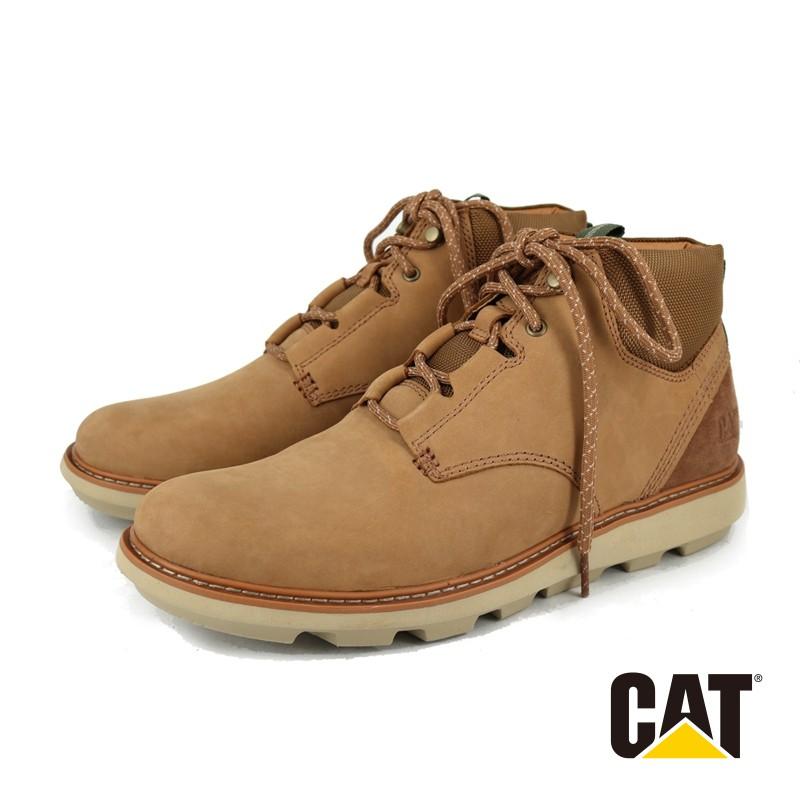 【CAT】男 BURSK LACE 都會潮流休閒鞋 - 724447 - 棕色