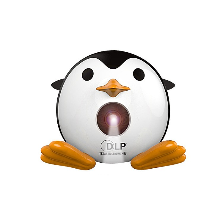 企鵝微型投影機 現貨買就送音響+HDMI線