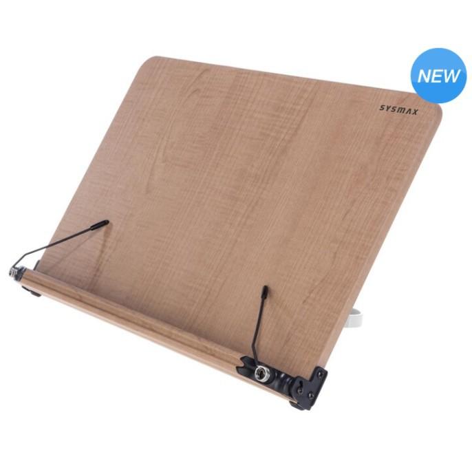 【預購】 韓國 Sysmax 木製立書架 - L 看書架 讀書架 立書架 學習架 平板架《超頻者3》好市多代購