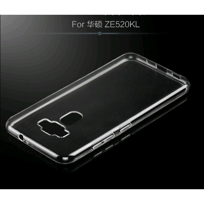 超薄ASUS Zenfone3 MAX DELUXE 透明TPU清水套矽膠套背蓋手機殼 ZE552KL