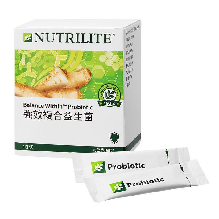 T&J熊熊貓~~AMWAY安麗~NUTRILITE紐崔萊~強效複合益生菌90入/強效複合益生菌30入/高纖隨身包